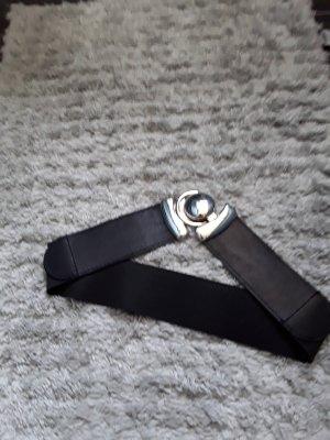 Cintura in tessuto nero