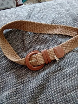 Accessoire Diffusion Braided Belt bronze-colored-brown