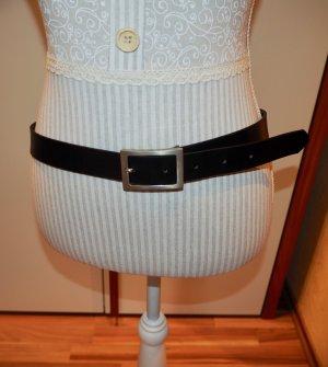H&M Cintura nero Pelle