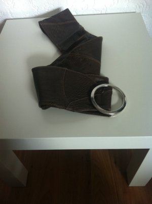 s.Oliver Waist Belt black brown