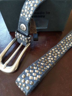 B Belt Studded Belt dark blue