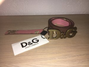 Dolce & Gabbana Leather Belt multicolored