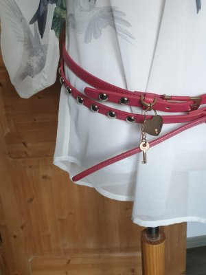 Angels Cinturón rojo frambuesa