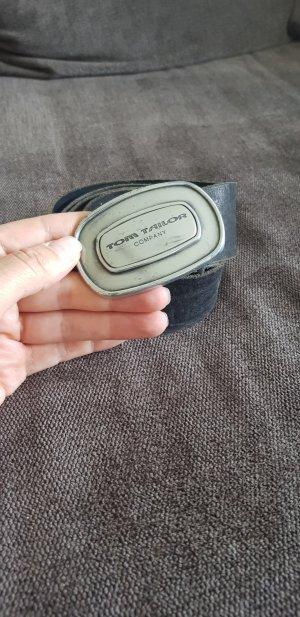 Tom Tailor Leather Belt black