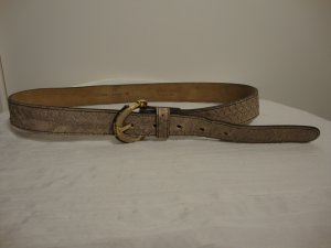 Escada Leather Belt grey brown leather