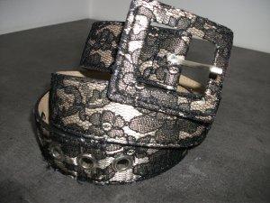 Belt gold-colored-black