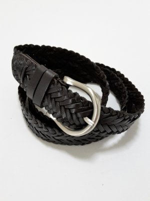 Esprit Braided Belt dark brown-brown