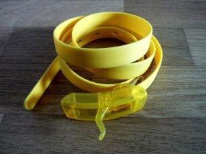 Gürtel gelb modisches Accessoire