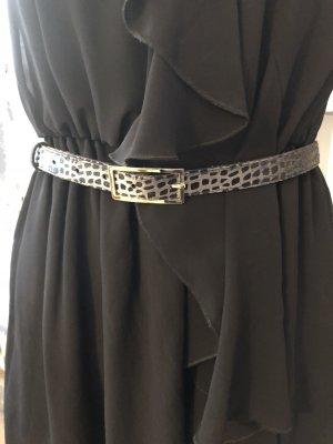 Gürtel grau schwarz Gr. xs 79 cm