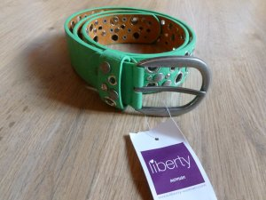 Liberty Faux Leather Belt lime-green