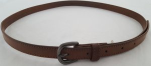 Faux Leather Belt brown imitation leather
