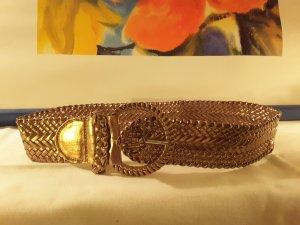 Gürtel  in Bronze glänzend Länge 96 cm, Breite 6 cm