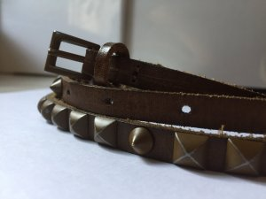 Liebeskind Berlin Studded Belt bronze-colored