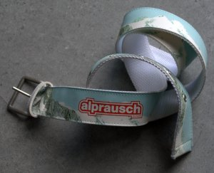 Alprausch Belt multicolored synthetic fibre
