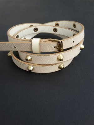 Studded Belt white-gold-colored