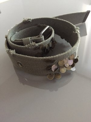 Fabric Belt khaki