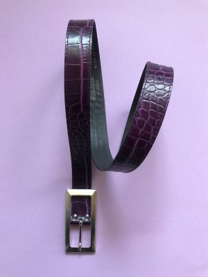 Hallhuber Faux Leather Belt multicolored