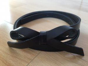 Vanzetti Leather Belt black leather