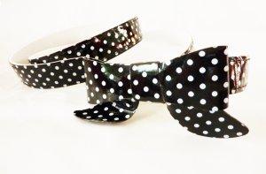 Gürtel mit Schleife schwarz Sterne Rockabilly Accessoires