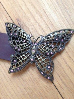 Gürtel mit Schmetterlingsschnalle