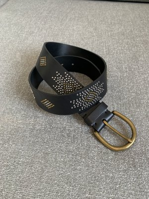 Ralph Lauren Cinturón de cadera negro