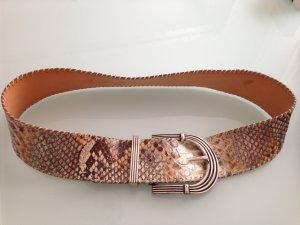 Reptile's House Belt cream-grey brown