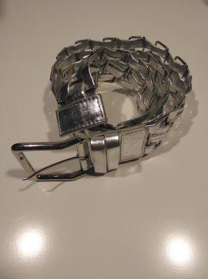 Gürtel retro silberfarben metall von Madonna