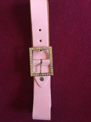 Gürtel rosafarbene gesamte Länge ca 128cm