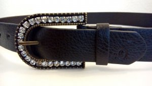 s.Oliver Faux Leather Belt black imitation leather