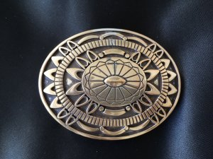Reptile's House Belt Buckle silver-colored