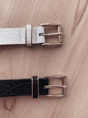 H&M Cintura fianchi nero-oro
