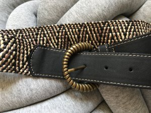 Sisley Braided Belt brown