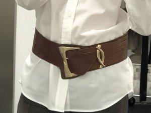 Cinturón de cadera color bronce Cuero