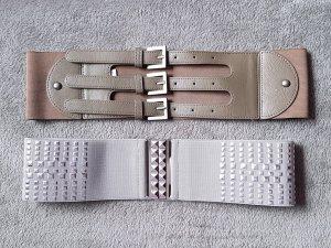 Pieces Cintura vita multicolore Tessuto misto