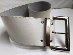 Cinturón de cuero blanco Cuero