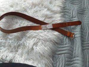 Arami Cintura di pelle marrone