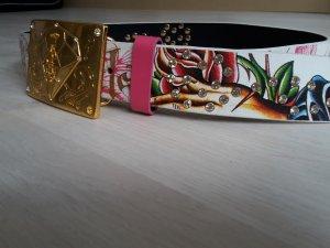 Christian Audigier Belt multicolored