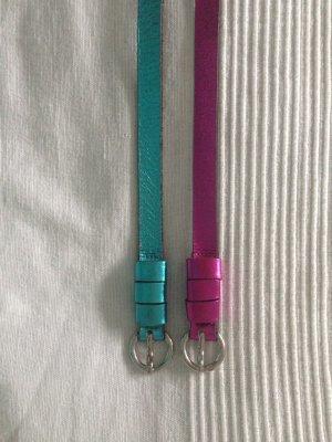 Comma Cintura rosa-turchese