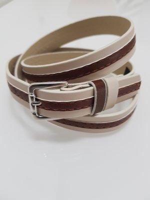 Comma Cintura beige chiaro-marrone