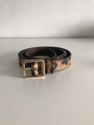 Dolce & Gabbana Leather Belt multicolored