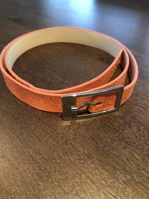 Esprit Faux Leather Belt neon orange
