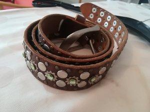 Esprit Cinturón de pinchos marrón-marrón oscuro