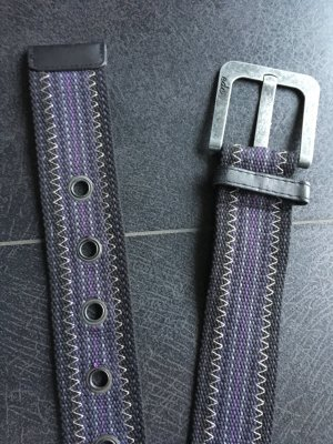 Edc Esprit Belt black-lilac