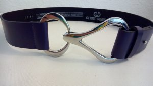 Gerry Weber Cintura in ecopelle marrone-viola Finta pelle