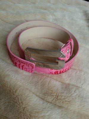 Gürtel von GUESS, Pink, 95 cm