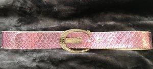 Gürtel von Just Cavalli in Rosa mit Gold