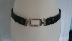 Marc O'Polo Cinturón pélvico marrón-negro Cuero