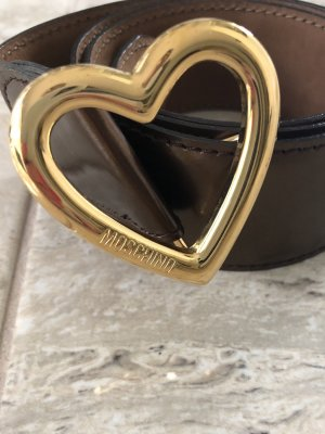 Moschino Leather Belt multicolored leather