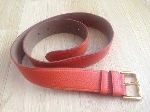 Prada Leather Belt salmon leather