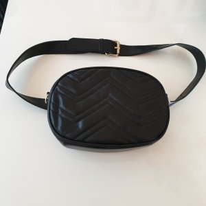 Bumbag black-gold-colored
